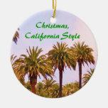 Ornamento del ESTILO de CALIFORNIA del NAVIDAD Ornamento Para Reyes Magos