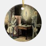 Ornamento del fantasma de Scrooge un Marley del Ornamento De Navidad