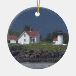 Ornamento del faro de Nueva Inglaterra Ornaments Para Arbol De Navidad
