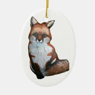 Ornamento del Fox Adorno Para Reyes