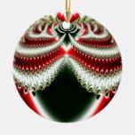 Ornamento del fractal 6 del navidad ornato