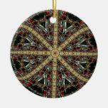Ornamento del fractal 7 del navidad adornos de navidad