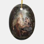 """Ornamento """"del fuego"""" adornos de navidad"""