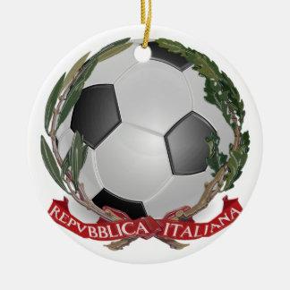 Ornamento del fútbol de Italia Futbol Ornamentos De Reyes