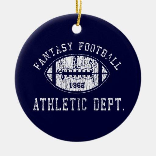 Ornamento del fútbol de la fantasía ornamentos de reyes magos