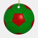 Ornamento del fútbol/decoración - SRF Ornamento Para Arbol De Navidad