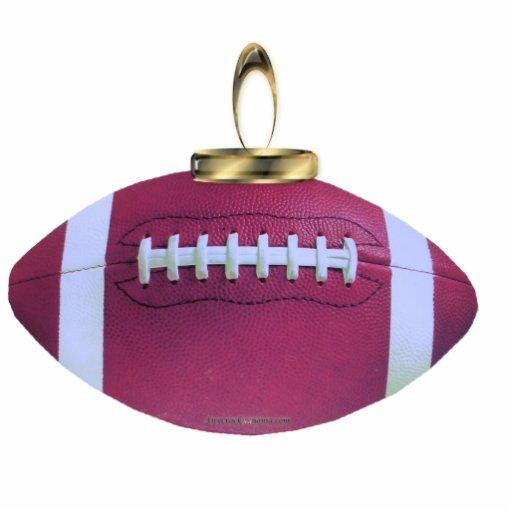 Ornamento del fútbol esculturas fotográficas