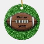 Ornamento del fútbol ornamentos de navidad