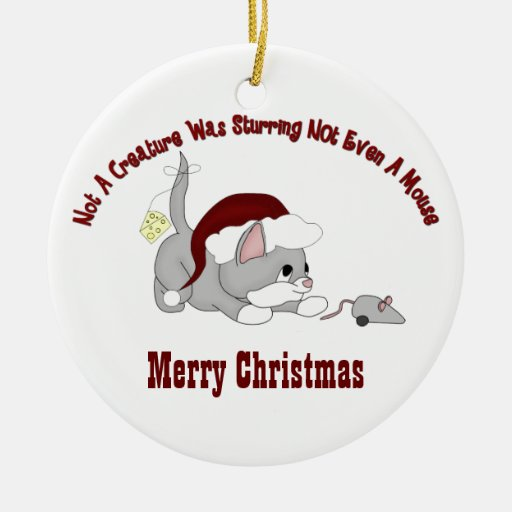 Ornamento del gatito #3 del navidad ornaments para arbol de navidad