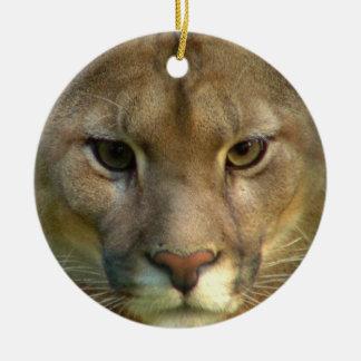 Ornamento del gato del puma ornamentos de reyes
