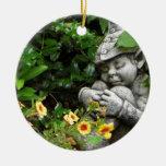 Ornamento del gnomo del jardín adornos de navidad