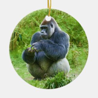 Ornamento del gorila ornamentos para reyes magos