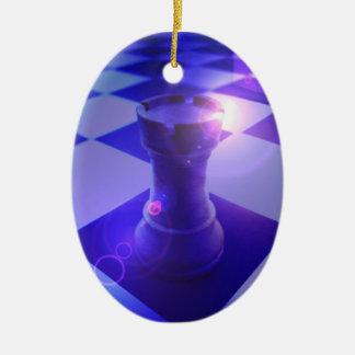 Ornamento del grajo del ajedrez ornato