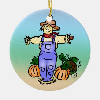 Ornamento del granjero del espantapájaros adornos de navidad
