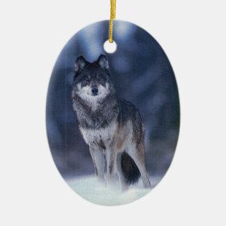 Ornamento del guarda del lobo adorno para reyes