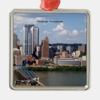 Ornamento del horizonte de Pittsburgh Pennsylvani Ornato