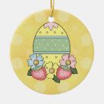 Ornamento del huevo de Pascua Ornato