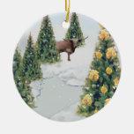 Ornamento del invierno de Tejas Ornamento Para Reyes Magos