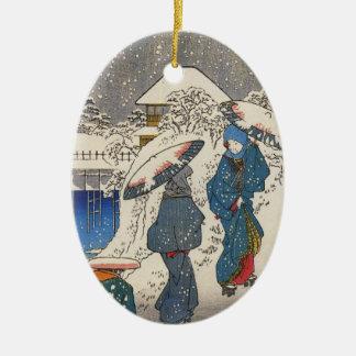 Ornamento del japonés del vintage ornamente de reyes