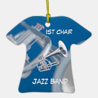 Ornamento del jazz de la música de la trompeta de  ornamentos de reyes magos