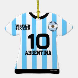 Ornamento del jersey de fútbol del mundial de la ornato