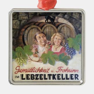 Ornamento del lagar del vintage adornos