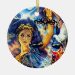 Ornamento del libra adorno de reyes