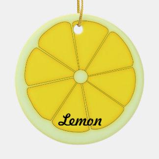Ornamento del limón ornamentos de reyes magos