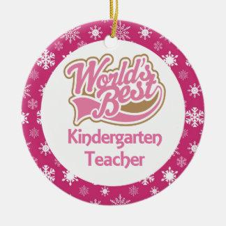 Ornamento del maestro de jardín de infancia adorno
