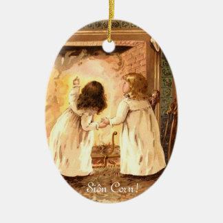 Ornamento del maíz de Siôn Ornamentos De Navidad