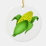 Ornamento del maíz en la mazorca ornamente de reyes