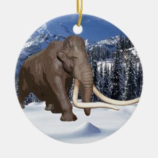 Ornamento del mamut lanoso adorno