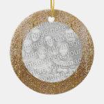 Ornamento del marco de la foto del navidad de la adorno de navidad