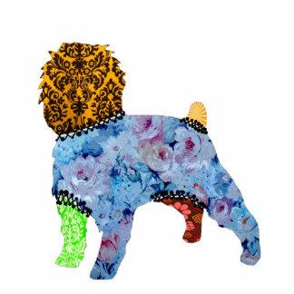 Ornamento del mascota del remiendo del Affenpinsch Escultura Fotografica