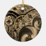 Ornamento del mecanismo del vintage ornamentos para reyes magos