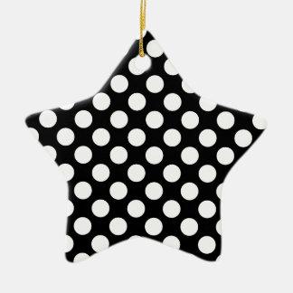 Ornamento del modelo adorno de cerámica en forma de estrella