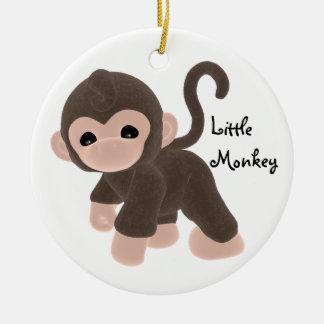 Ornamento del mono de la diversión del KRW pequeño Ornatos