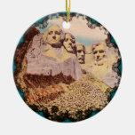 Ornamento del monte Rushmore Ornamentos De Navidad