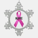 Ornamento del monumento del cáncer de pecho adorno