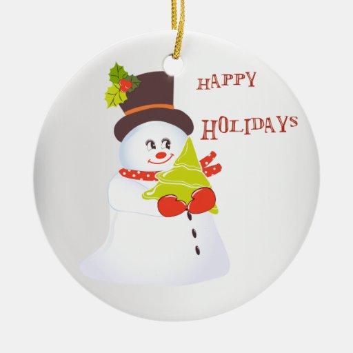 ornamento del muñeco de nieve ornamente de reyes
