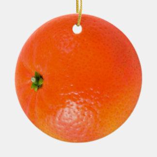 Ornamento del naranja de la clementina adornos