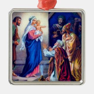 Ornamento del navidad 2 del vintage adorno de reyes