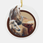 Ornamento del navidad: Corona y los niños 2012 Ornamentos De Reyes Magos