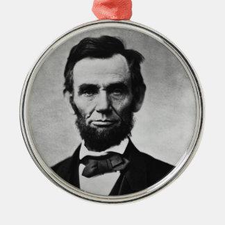 Ornamento del navidad de Abraham Lincoln Ornamentos De Navidad
