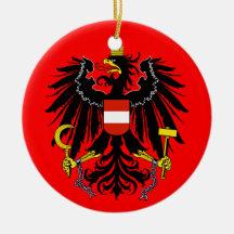 Ornamento del navidad de AUSTRIA* Ornamento Para Arbol De Navidad