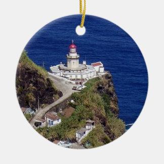 Ornamento del navidad de Azores Nordeste* Adorno Redondo De Cerámica