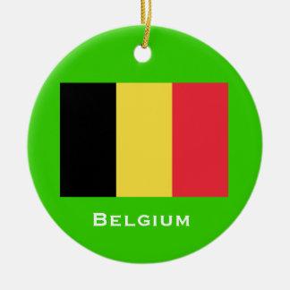 Ornamento del navidad de BELGIUM Ornato