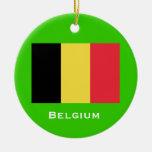 Ornamento del navidad de BELGIUM* Ornato