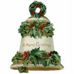 Ornamento del navidad de Bell del Victorian Adorno Fotoescultura