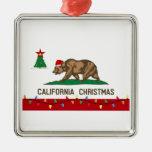 Ornamento del navidad de California Ornamento Para Arbol De Navidad